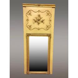 Restoration period Trumeau mirror