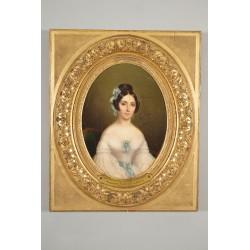 Portrait de la Marquise de Sainte-Croix
