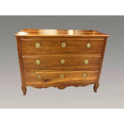 Louis XV period walnut chest of drawers