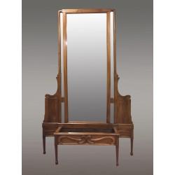 Large Art-Nouveau Mirror