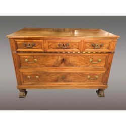 Directoire period chest of drawers