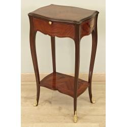 Small pedestal table Louis XV style
