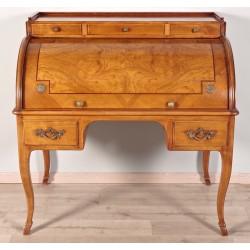 Cylinder desk Regency style Axe