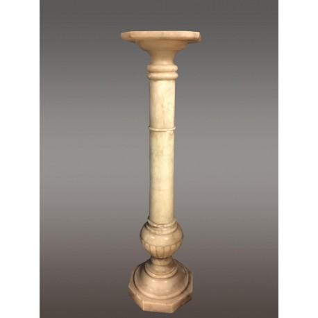 Alabaster column, 1900 period