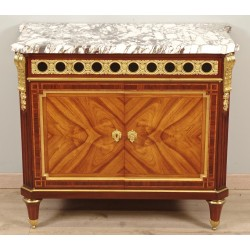 Napoleon III Chest of Drawers Signed Mercier