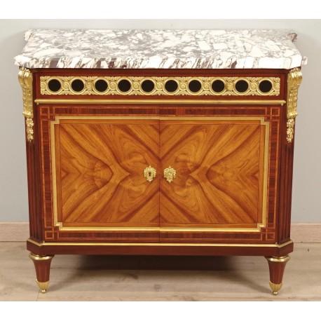 Napoleon III Chest of Drawers Signed Mercier
