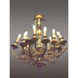 Large Louis XVI style chandelier