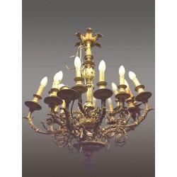 Grand Lustre Style Louis XVI