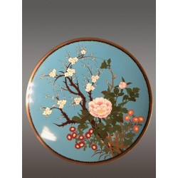 Cloisonné plate Japan Late 19th Century