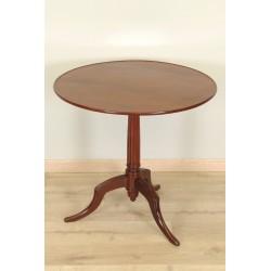 Mahogany pedestal table Louis XVI period