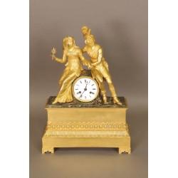 Clock Style Troubadour Charles X