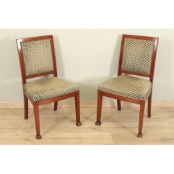 Pair Of Chairs Back From Egypt