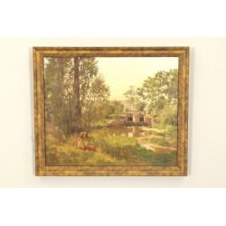 Oil On Canvas Signed Paul Grégoire