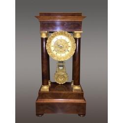 Empire Clock signed Tenaillon Pére Paris