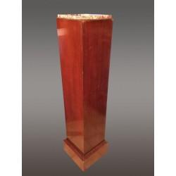 Mahogany Art-deco Column Cover