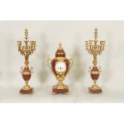 Louis XVI Style Mantel Set