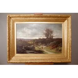 Landscape By Léon Humbert Anthelme Dallemagne