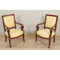 Pair Of Restoration Armchairs