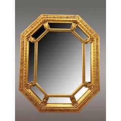 Napoleon III Golden Mirror with Parecloses