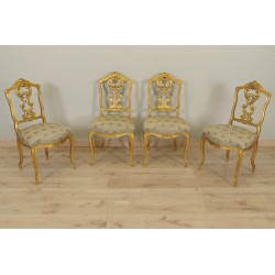 Chairs Golden Wood Napoleon III