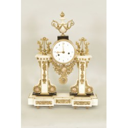 Louis XVI period clock signed Hartemann