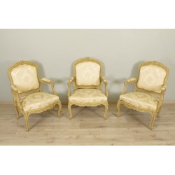 Chassis Armchairs Louis XV style