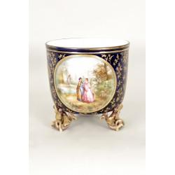 Napoleon III Porcelain planter