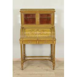 Lacquered desk Louis XVI style