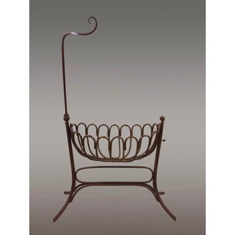 Curved Beechwood Cradle, Fischel 1900