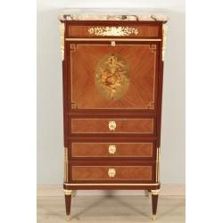 Louis XVI style secretary Signed Gouffé