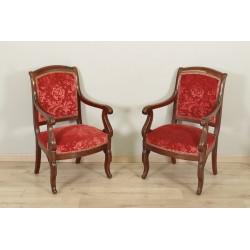 Pair Of Restoration Period Armchairs