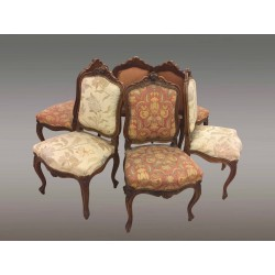 Suite Of Six Louis XV Style Chairs