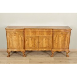 Chippendale Style Buffet Signed Bauroy Paris