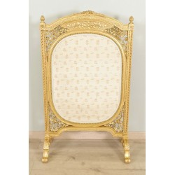 Fireguard Louis XVI style Golden Wood