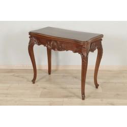 Games Table Louis XV Style Mahogany 1900