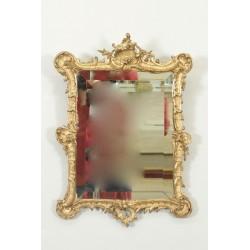 Louis XV style mirror gilded wood Napoleon III