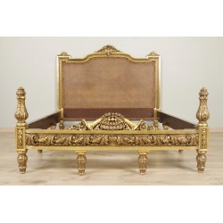 Napoleon II gilded wooden bed