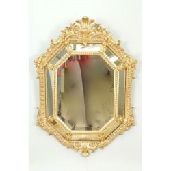 Golden Wood Mirror Parecloses Napoleon III