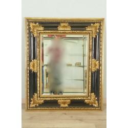 Mirror Louis XIV style Golden Wood
