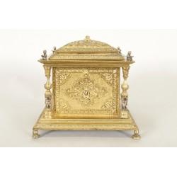 Napoleon III jewelry box gilt bronze