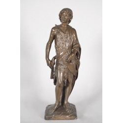 Bronze Saint John the Baptist Cachet Collas