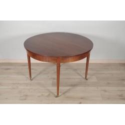 Louis XVI style mahogany table