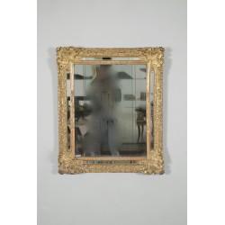 Regency period gilded wood mirror