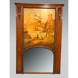 Lacroix Regency Style Trumeau Mirror From Marseille