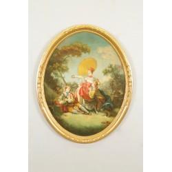 Italian school painting, 18th century style
