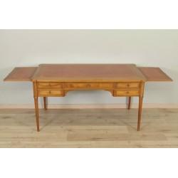 Louis XVI style flat desk mahogany