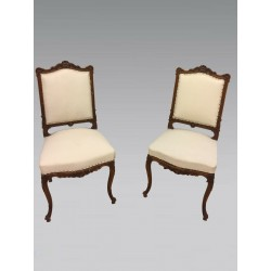 Pair of chairs in the Louis XV style