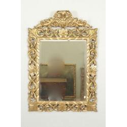 Grand Miroir Napoléon III Bois Doré