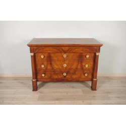 Empire period chest of drawers