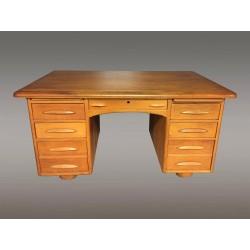 Oak Art-Deco desk
